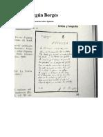 Borges, Jorge Luis - Baruj Spinoza (Dos Sonetos y Una Conferencia)
