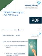 ITU Business Analysis PMI-PBA Course1