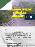 Hidraulica de Canales Abiertos
