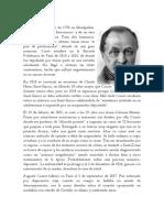 Biografias Augusto Comte y demas autores