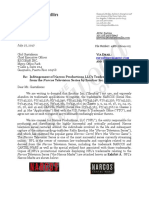 Narcos Infringement Letter (THR)