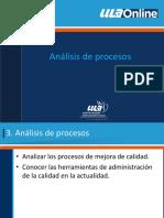 3. Analisis de Procesos