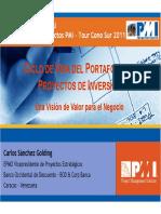 2011-Carlos Sanchez - Portafolio de Proyecto