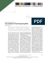 4. NEJM - 2 Cent of Assessing Drug Risks