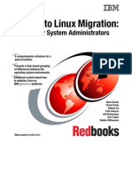 Solaris to Linux Migration