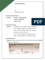 Direito Comercial - Trabalho Sobre Cheque