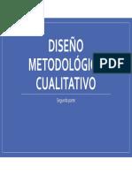 Clase_ Diseño Metodológico Cualitativo Parte 2