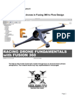 Drone Fusion360