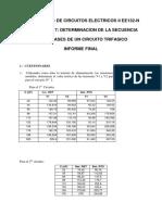 Determinacion de Secuencia de Fases FI