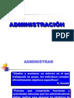 ADMINISTRACION TEORIA