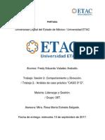 """Análisis de caso práctico """" CASO 3º D"""""""