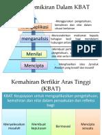 Analisis kbat DSKP
