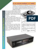 02 Grabación Con Soporte Analógico La Cassette