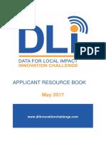 DLI Innovation Challenge Applicant Resource Book