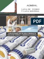 Aislacion - Lana de Vidrio y Mineral