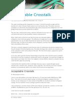 Acceptable Crosstalk