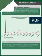 Indicadores Economicos Regionales. III Trimestre 2016