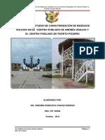 Estudio Caracaterizacion c.p. Pto Pizarro y Andres Araujo