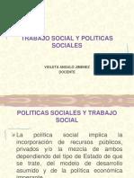Trabajo Social y Politicas Pãºblicas y Sociales