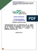 Bases Integradas - Obra - Lp-13 - Canibamba Alto