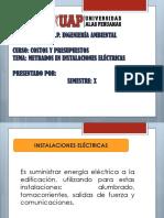 Metrado en Instalaciones Electricas