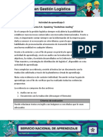 Evidencia 5.8. Speaking Guidelines Reading