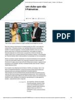 Como é a Vida de Um Clube Que Não Precisa Vender_ O Palmeiras Explica - Futebol - UOL Esporte