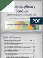 Interdisciplinary Studies TUTORIAL FINAL