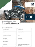 2015 BMW R 1200 GS Adventure