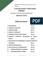 Diplomado en Psicología y Perfilación Criminal