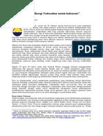 Energi Terbarukan (Renewable Energy) untuk Indonesia