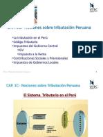 Cap 1C Nociones Sobre Tributación Peruana