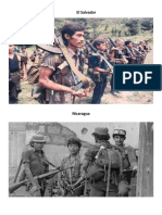 Conflicto Armado El Salvador y Nicaragua
