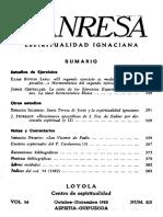 Manresa 1982 10-12 Estudios de Ejercicios.