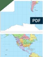 Shadowrun World Map