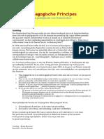 pedagogische principes  invarianten freinet