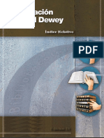 Indice Relativo. Sistemas de Clasificación Decimal Dewey
