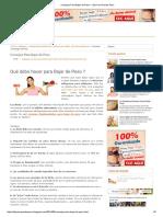 Bajar de Peso - Consejos Efectivos Para Bajar de Peso