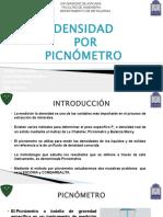 Densidad Por Picnómetro