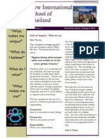 Who We Are Newsletter