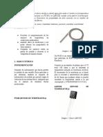 Instrumentación Sensor Temperatura