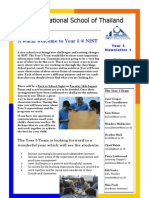 Year 5 Newsletter