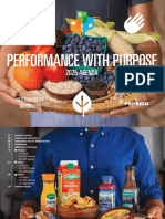 Pepsico Sustainability Report 2015 and -2025 Agenda
