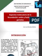 Aspectos moleculares de la fecundación ppt.pdf