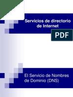 Servicios de Directorio de Internet