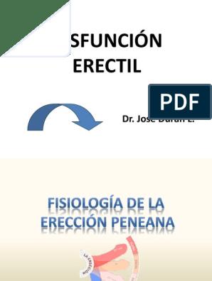revisión ptx disfunción eréctil