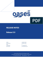 OASES FR5 0 Release Notes