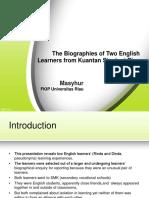 Catatan Biografis