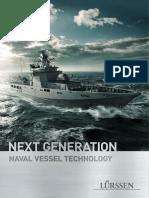 Patrullero de alta mar de nueva generación clase lürssen