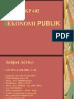 Handout Ekonomi Publik Ani